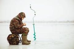 Pescatore. Fotografia Stock