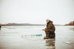 Pescatore. Fotografia Stock Libera da Diritti