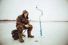 Pescatore. Immagini Stock Libere da Diritti