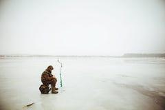 Pescatore. Fotografie Stock