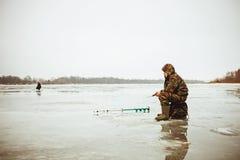 Pescatore. Fotografie Stock Libere da Diritti