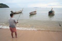 Pescatore fotografie stock libere da diritti