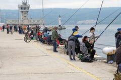 Pescatore Immagini Stock