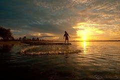 Pescatore Immagini Stock Libere da Diritti