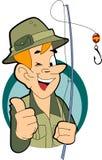 Pescatore royalty illustrazione gratis
