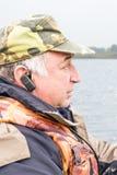 Pescatore anziano Fotografia Stock