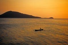 Pescatore caraibico Fotografie Stock Libere da Diritti