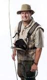Pescatore della mosca Fotografia Stock