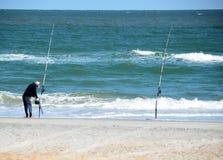 Pescatore della spuma in Florida Fotografie Stock Libere da Diritti