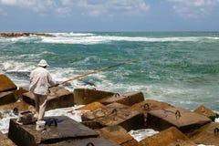 Pescatore egiziano Fotografie Stock