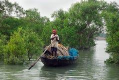 Pescatore indiano Fotografia Stock Libera da Diritti