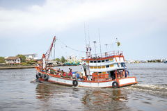 Pescatore locale Immagini Stock Libere da Diritti