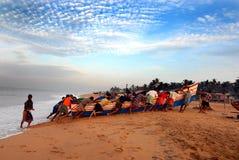 Pescatori Fotografia Stock Libera da Diritti