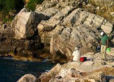Pescatori fotografia stock