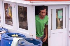 Pescatori Burmese Immagine Stock Libera da Diritti