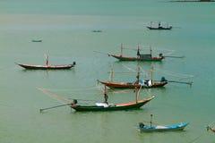 Pescatori che vivono nel mare 3 Immagini Stock Libere da Diritti