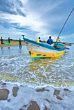 Pescatori, India Immagine Stock