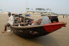 Pescatori indiani Immagini Stock