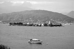 pescatori isola lago maggiore Obrazy Royalty Free