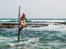 Pescatori locali Fotografia Stock Libera da Diritti