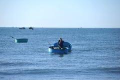 Pescatori in Mui Ne vietnam Fotografia Stock Libera da Diritti
