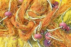 Pescatori netti Fotografie Stock
