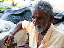 Pescatori, spiaggia di Marari, Kerala India Fotografia Stock Libera da Diritti