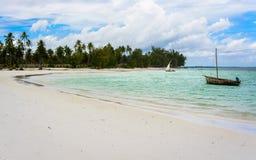 Pescatori Zanzibar Immagini Stock