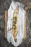 Pesce arrostito del luce Immagine Stock Libera da Diritti