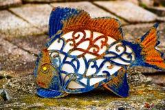 Pesce arrugginito Immagine Stock Libera da Diritti