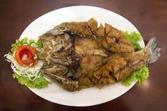 Pesce croccante Fotografia Stock