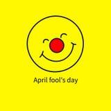 Pesce d'aprile dell'icona royalty illustrazione gratis