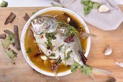 Pesce dei pesci castagna, alimento cinese Fotografia Stock Libera da Diritti