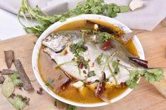 Pesce dei pesci castagna, alimento cinese Immagini Stock