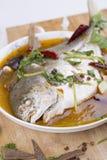 Pesce dei pesci castagna, alimento cinese Immagini Stock Libere da Diritti