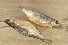 Pesce del sale secco due, XXXL Fotografia Stock