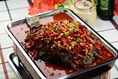 Pesce dell'arrosto Fotografie Stock