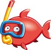 Pesce dell'operatore subacqueo Fotografia Stock