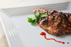 Pesce di alimento indiano Fotografie Stock