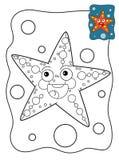 Pesce di corallo del fumetto Immagine Stock