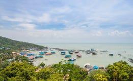 Pesce di mare che coltiva in Tailandia Fotografie Stock Libere da Diritti