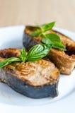 Pesce fritto Fotografia Stock