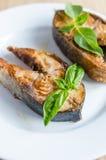 Pesce fritto Fotografia Stock Libera da Diritti