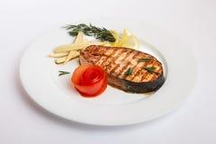 Pesce fritto pesce fotografia stock libera da diritti