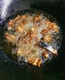 Pesce gatto in pentola calda Immagine Stock