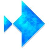 Pesce poligonale astratto Immagine Stock