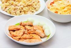 Carne pesci uova pollo immagine stock immagine 17324135 for Uova di pesce rosso
