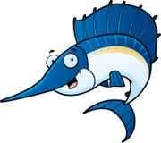 Pesce vela del Pacifico Immagine Stock