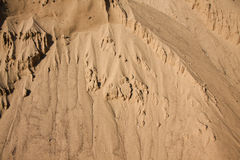 Peschannaya mountain. A desert sand dune with ripples of wind-blown texture. Lots of room for copyspace Stock Photo