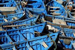 Pescherecci Essaouira Immagini Stock